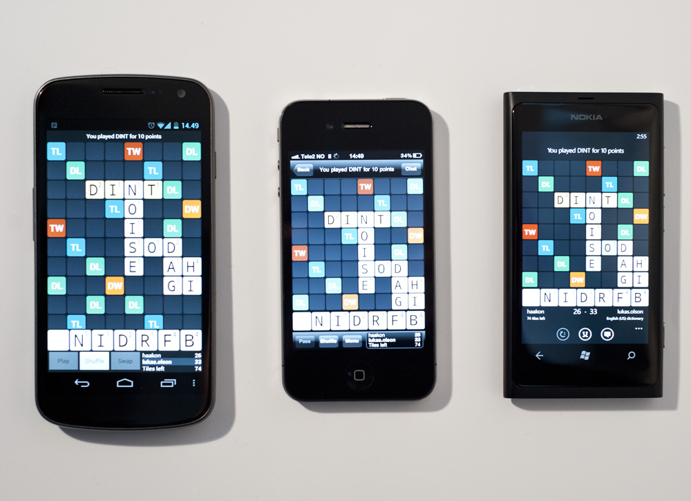 Wordfeud picks up a minor update for windows phone | windows central.